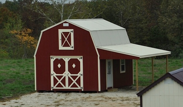 Wooden Classic Country Barn