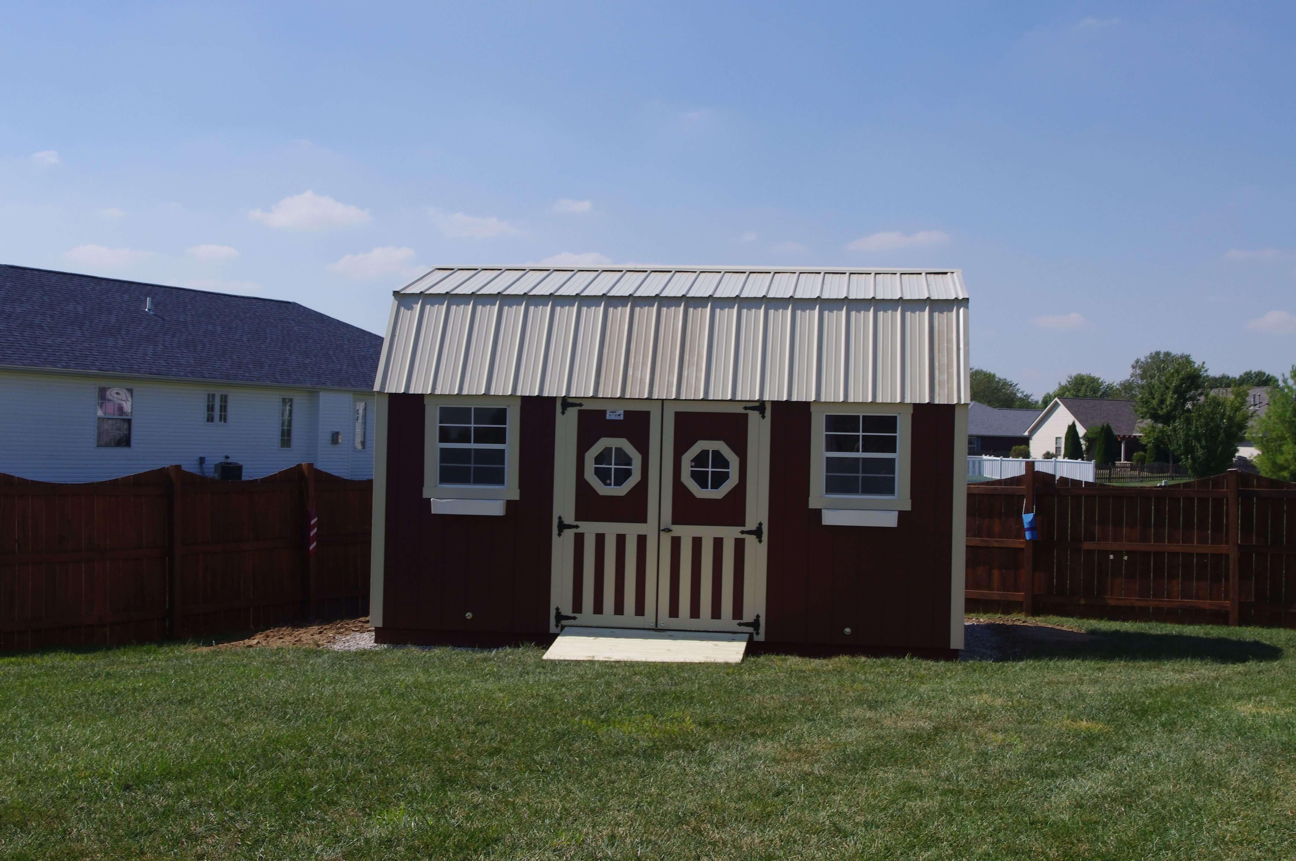 Ron Holland Lofted Garden Barn