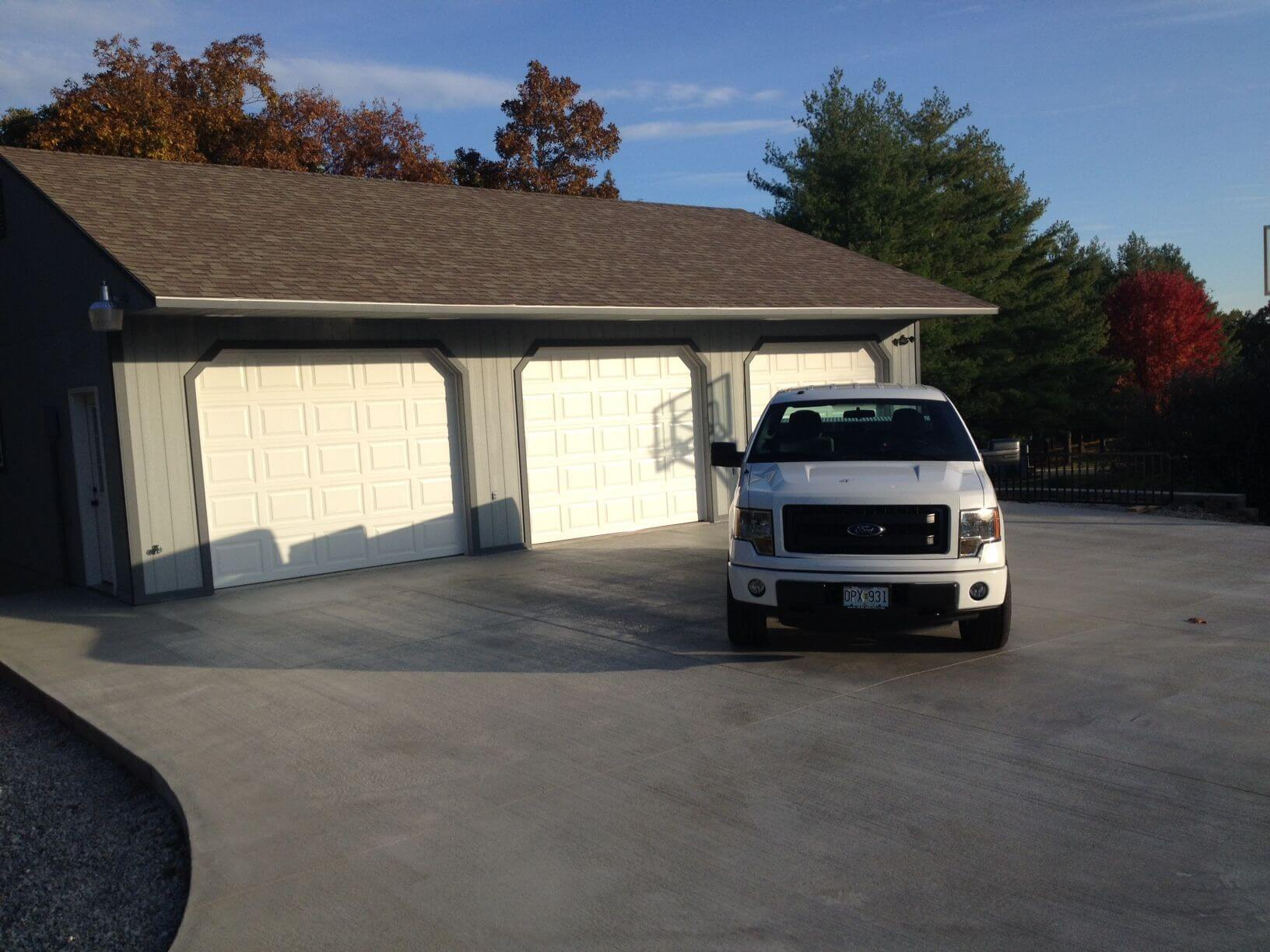 David A Clark Custom Garage