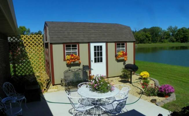 lake side shed