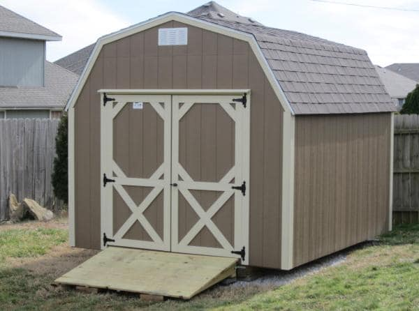 convenient shed ramp