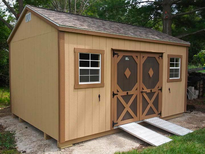 12x16 Garden Shed - Classic Buildings Sales