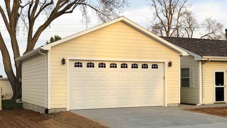 Basic 2 Car Garage