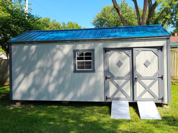 10x20 Garden Shed - Classic Series