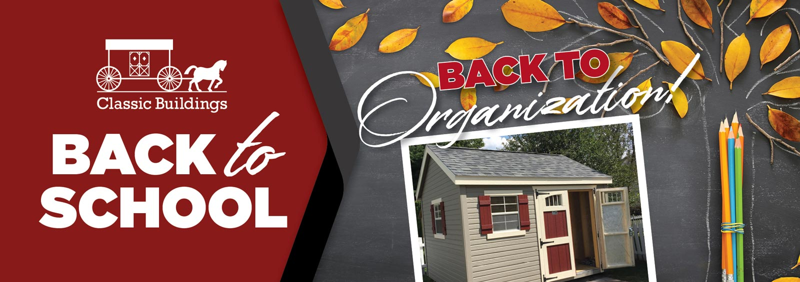 Classic Buildings Spring Cleaning 2021 promo banner